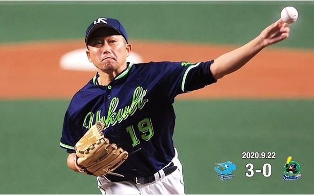 石川力投も勝てず200922