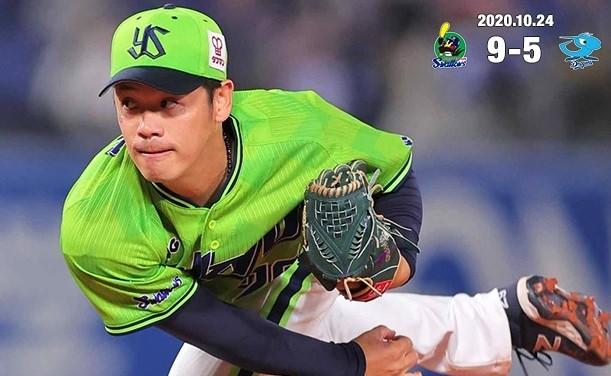 小川10勝目201024