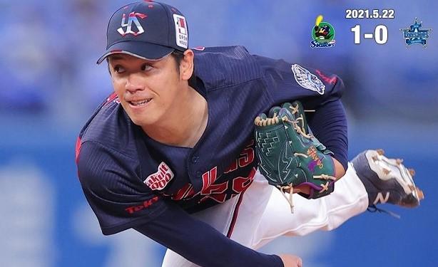 小川好投で4勝目