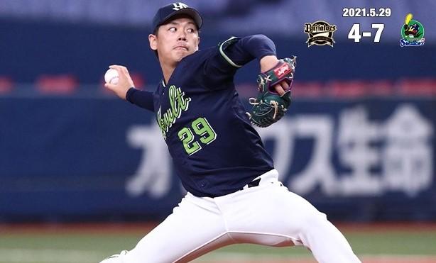 5月29日小川5勝目