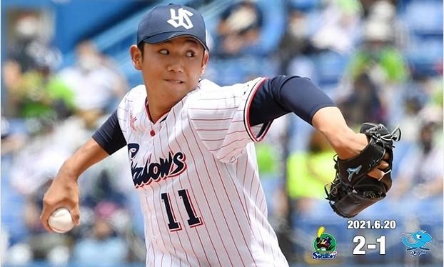 6月20日奥川3勝