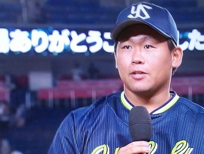 田口3勝目ヒーローインタビュー