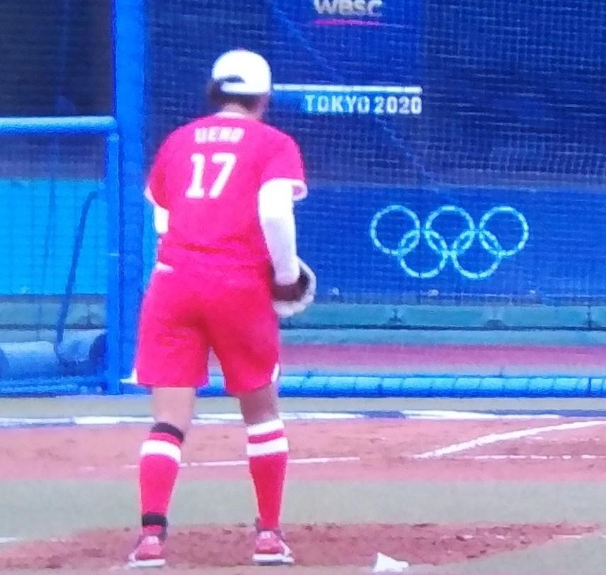 背番号17が再びオリンピックマウンドに