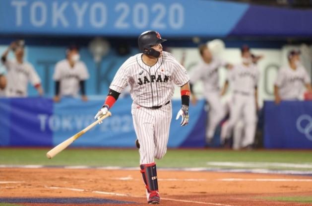 東京オリンピック最終戦ソロホームラン