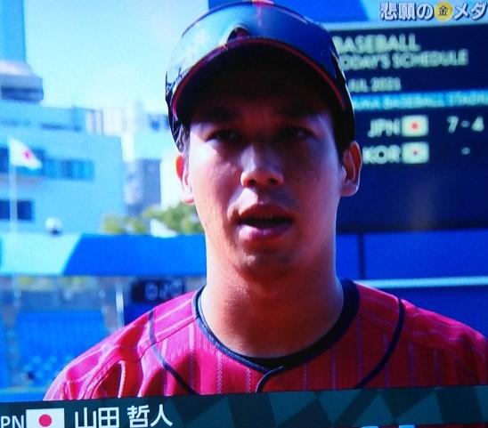山田ヒーローインタビュー