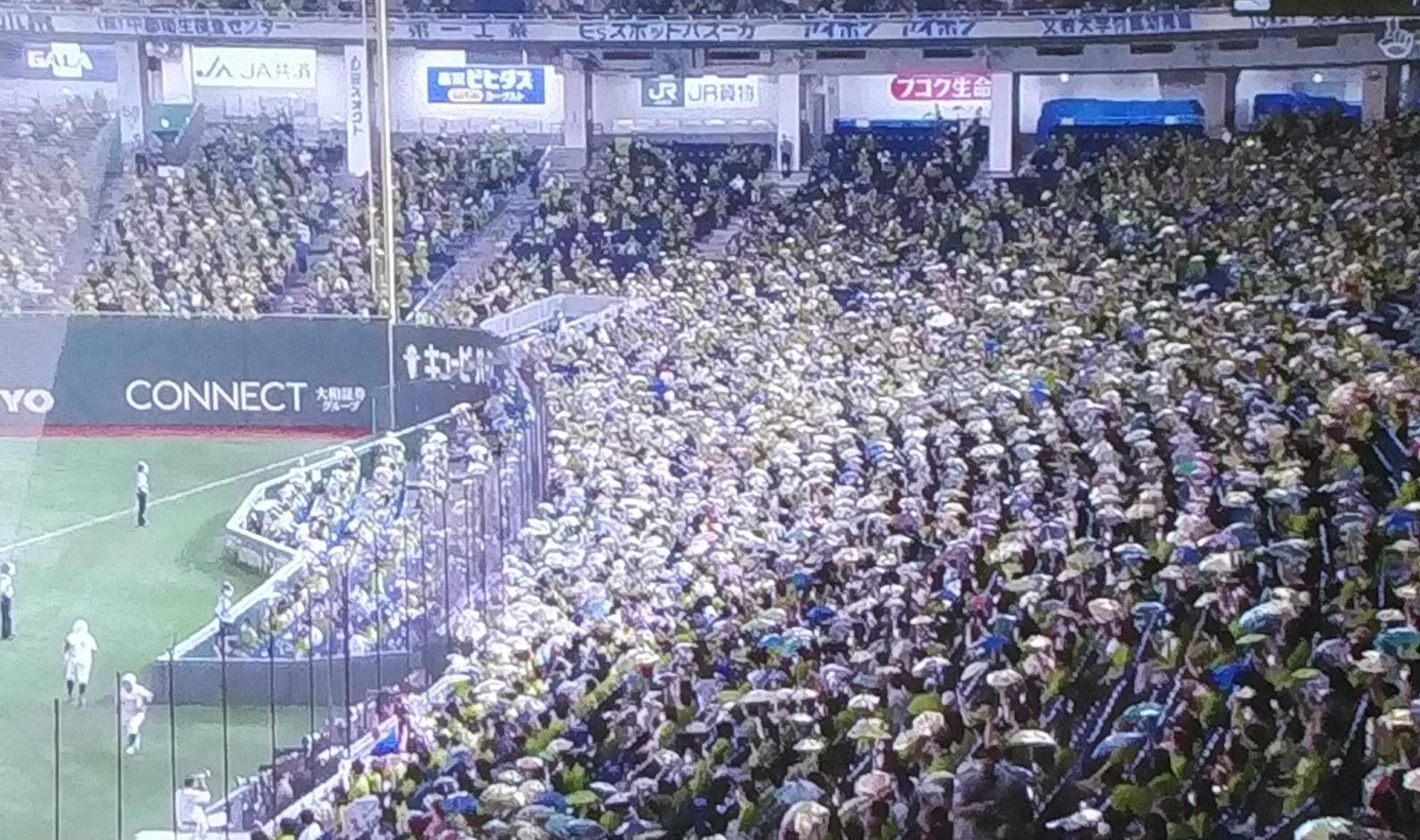 対横浜東京ドーム主催試合
