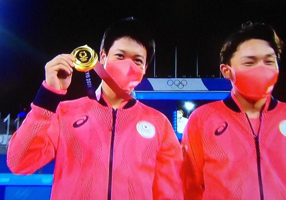 山田金メダル